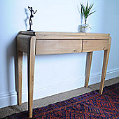 Oceans Apart Belvedere Oak Small Console Table