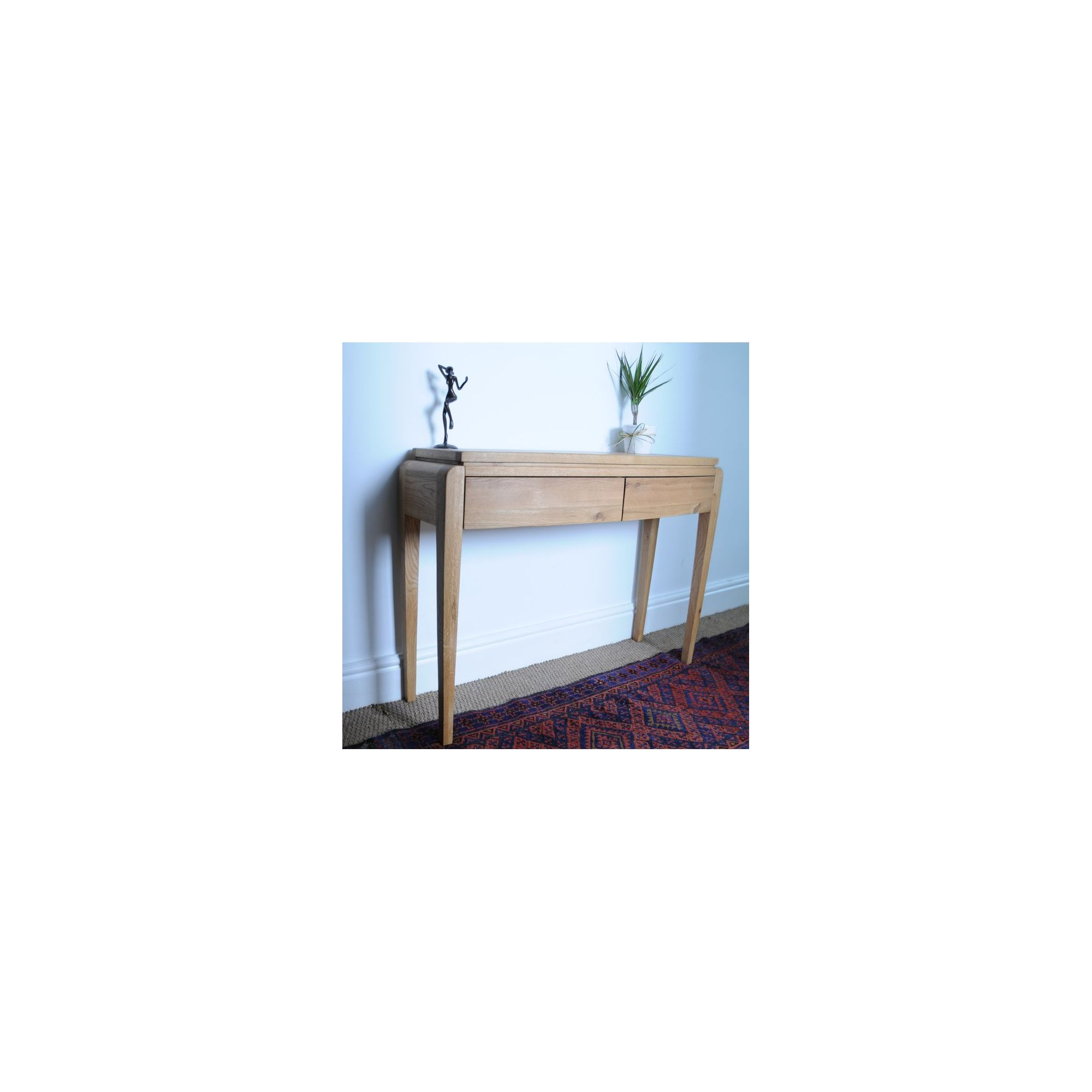 Oceans Apart Belvedere Oak Small Console Table at Tesco Direct