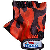 Kiddimoto Gloves Flames (Small)
