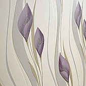 Superfresco Easy Peace Wallpaper - Plum