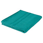 Tesco 100% Combed Cotton Bath Towel Kingfisher