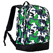 Kids' Backpacks- Green Camo