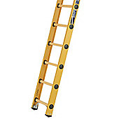 Heavy Duty 2.35m All GRP Fibreglass Single Extension Ladder