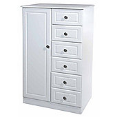 Welcome Furniture Pembroke Child's Wardrobe - White