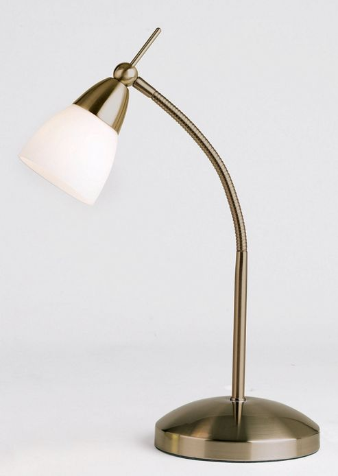 Endon Lighting Desk Lamp in Antique