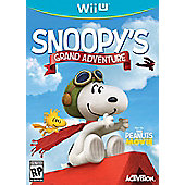 The Peanuts Movie Snoopys Grand Adventure - NintendoWiiU