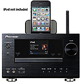 PIONEER XCHM81 WIRELESS NETWORKED MICRO SYSTEM WITH IPOD DOCK AND AIRPLAY