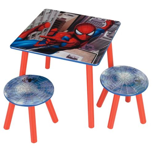 Spider-Man Table And Stools
