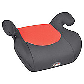 Kiddu Buddy Booster Seat Group 3, Black/Red
