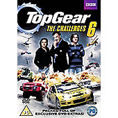 Top Gear - The Challenges Vol 6 - With Augmented Reality (DVD Boxset)