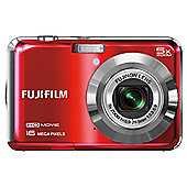 "Fuji AX650 Digital Camera, Red, 16MP, 5x Optical Zoom, 2.7"" LCD Screen"