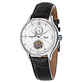 Thomas Earnshaw Flinders 42mm Mens Leather Strap Watch - ES-8023-02