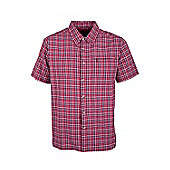 Holiday Shirt Short Sleeved Cotton - Red