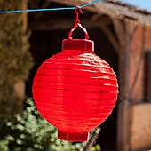 Red LED Solar Powered Chinese Hanging Lantern