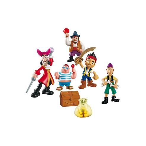 Jake and The Neverland Pirates Deluxe Adventure Figure Pack