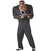 Adult Massive Mobster Gangster Costume Extra Large