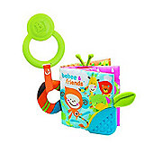 BKids Teething Activity Book Baby Toy