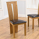 Mark Harris Furniture Arizona Dining Chair (Set of 2) - Bycast Brown