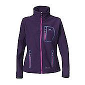 Trespass Ladies Homelake Softshell Jacket - Aubergine