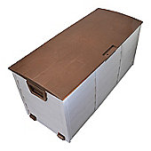Palm Springs Outdoor Garden Storage Plastic Shed Box 290 Litres