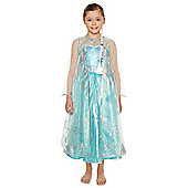 Disney Frozen Elsa Premium Dress-Up Costume years 05 - 06 Blue