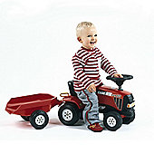Falk Foot to Floor Red Case CVX 120 Tractor & Trailer