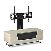 CRO2-1000BKT-IV Chromium 2 Cantilever TV Stands for 50 TV in Ivory