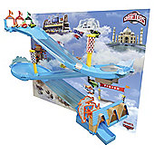 Disney Planes Micro Drifters Wall Race Track Set