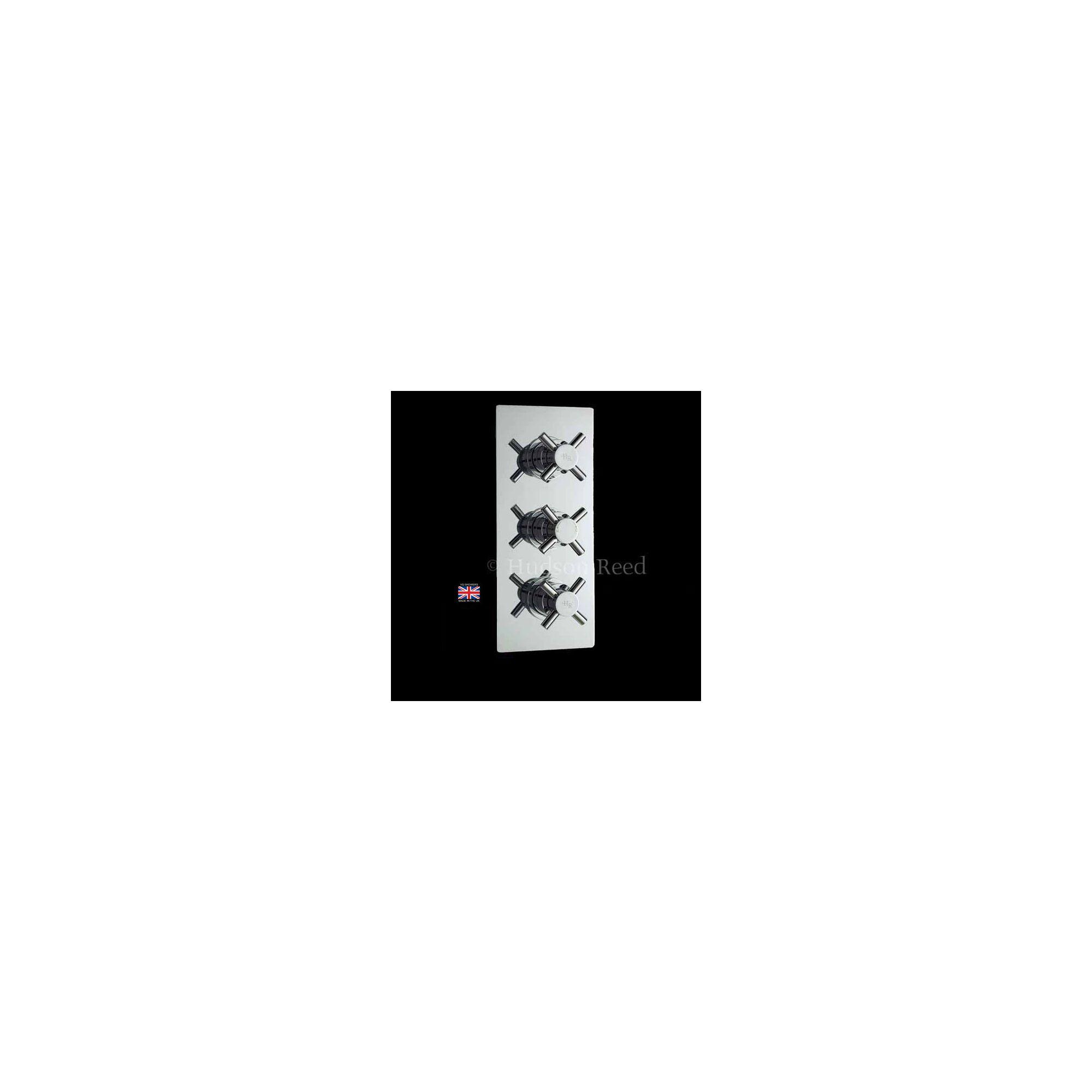 Hudson Reed Kristal Triple Concealed Thermostatic Shower Valve with Diverter at Tesco Direct