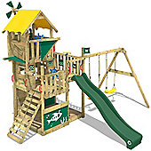 Climbing Tower Wickey Smart Flight With Green Swing