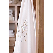Clair De Lune Starburst Pram Blanket - Cream