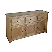 Home Essence Hamilton 3 Door Sideboard in Natural Ash