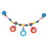 Heimess 762990 Wooden Pram String Clip On (Sailor)