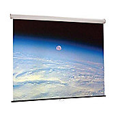 Draper Luma Manual Pull Down 4:3 84 inch NTSC Projection Screen - Matte White