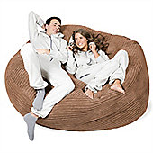 Lounge Pug™ Mega Mammoth Cord Bean Bag - Sand