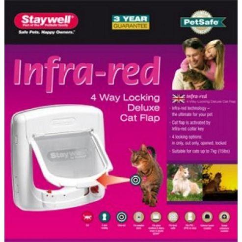 Staywell Infra-red cat door 500EFS