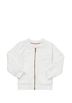 F&F Lace Bomber Jacket - Cream