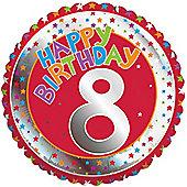 18' 8th Birthday Foil (each)