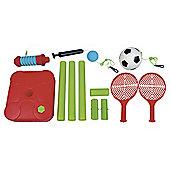 2 In 1 Tennis & Soccer Swing