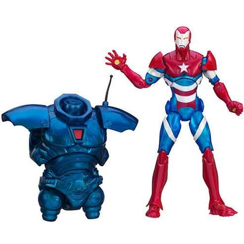 Marvel Legends Iron Man 3 15cm Figure - Iron Patriot