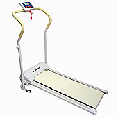 Confidence Fitness Power Plus Motorised Folding Treadmill Running Machine White