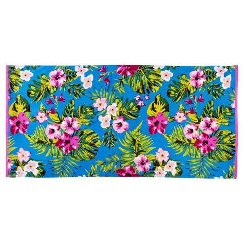 Tesco Floral Beach Towel