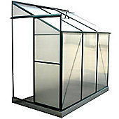 4ft x 6ft Lean-To Metal 4 x 6 Greenhouse 4x6