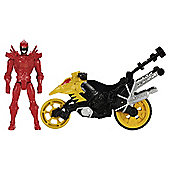 Power Rangers Dino Super Charge Dino Stunt Bike & T-Rex Super Charge Ranger Action Figure