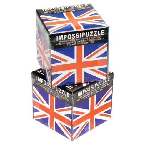 Union Jack Impossipuzzle Jigsaw - 100pcs
