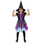 F&F Halloween Witch Dress-Up Costume - Multi
