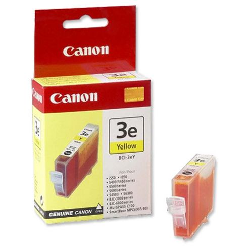 Canon BC1-3eY Ink Tank Yellow