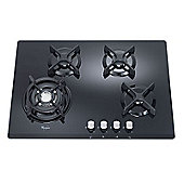 Whirlpool AKT466/NB 70cm Gas Hob in Black