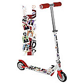One Direction 2-Wheel Folding Inline Scooter