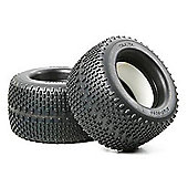 Tamiya 51303 2X Tyres + Sponge For 43530 - Rc Hop-Ups